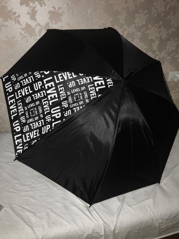 Зонт зонтик парасолька трость двухслойный
