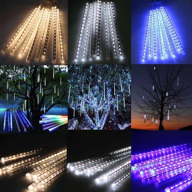 LED-гирлянда Метеоритный дождь 50см - Фото 5