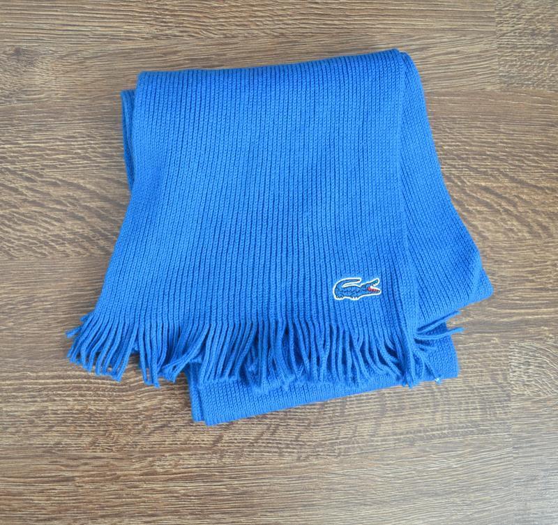 Оригинальный теплый шарф  lacoste ® sharf