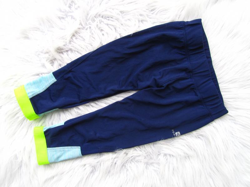 Компрессионные спортивные лосины штаны брюки decathlon