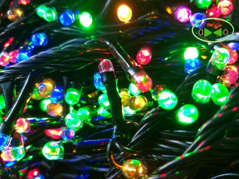 Светодиодная LED гирлянда Линза на ёлку 9м. - Фото 2