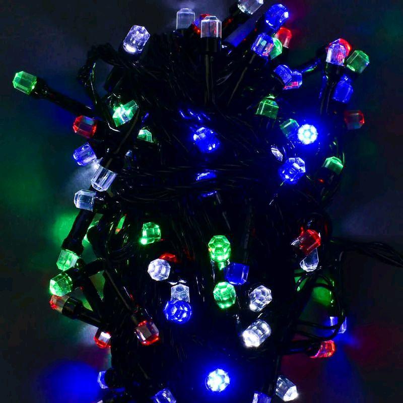 Светодиодная LED гирлянда для ёлки Хрусталь 9м. - Фото 2