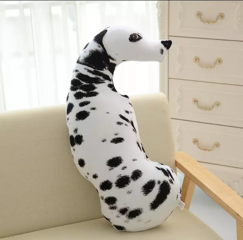 Собака 3d подушка- игрушка