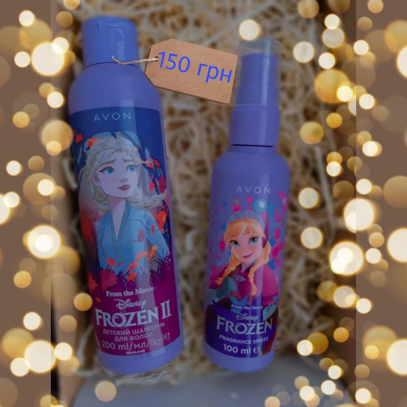 Frozen набор шампунь для волос парфюмированый спрей для тела