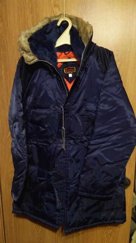 Куртка мужская зимняя, утепленная.