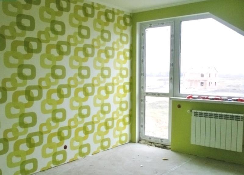 Шпаклевка Поклейка обоев Киев Штукатурка, выравнивание стен, пото