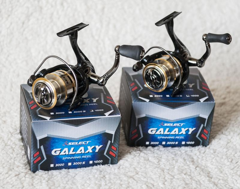 Катушки безынерционные Select Galaxy 4000 2шт Новые