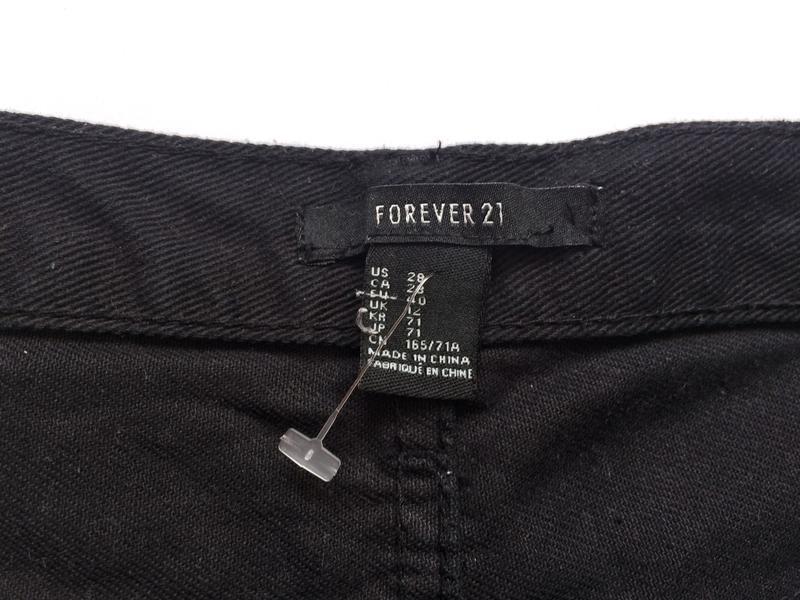 Крутые шорты forever21,шорти чорні - Фото 4