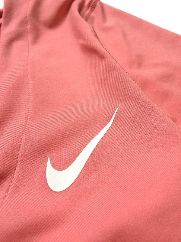 Футболка найк nike pro dri fit розовая, топ для спорта, майка ... - Фото 5