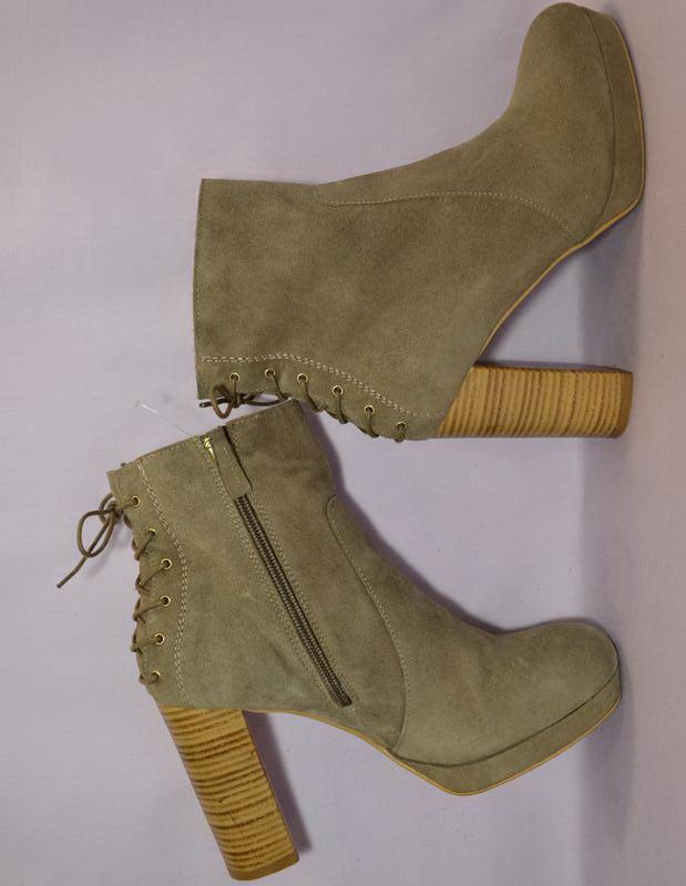 Topshop испания100% натуральная кожа! модные ботильоны ботинки...