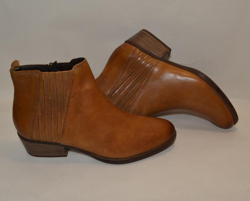 Германия tamaris 100% натуральная кожа! ботинки туфли повыш ко... - Фото 8