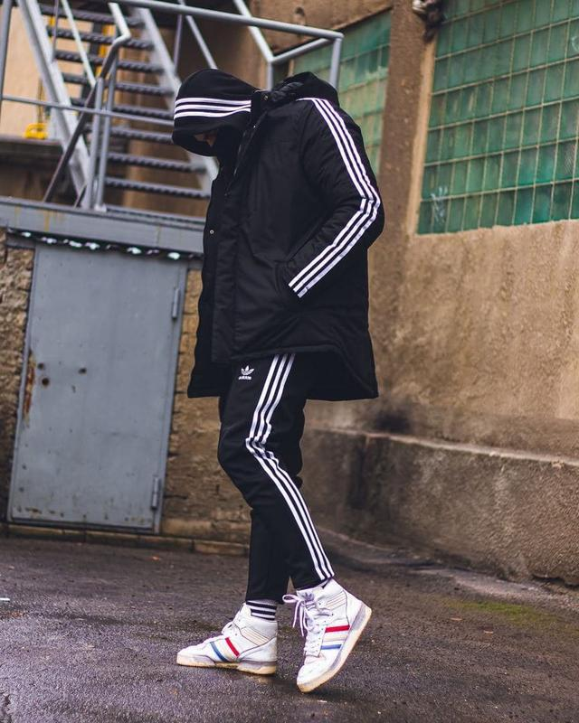 Зимняя мужская куртка Adidas Originals - Фото 2
