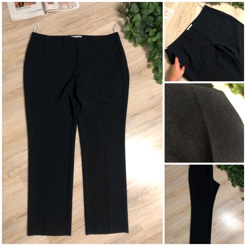 Классические темно-синие джинсы брюки штаны