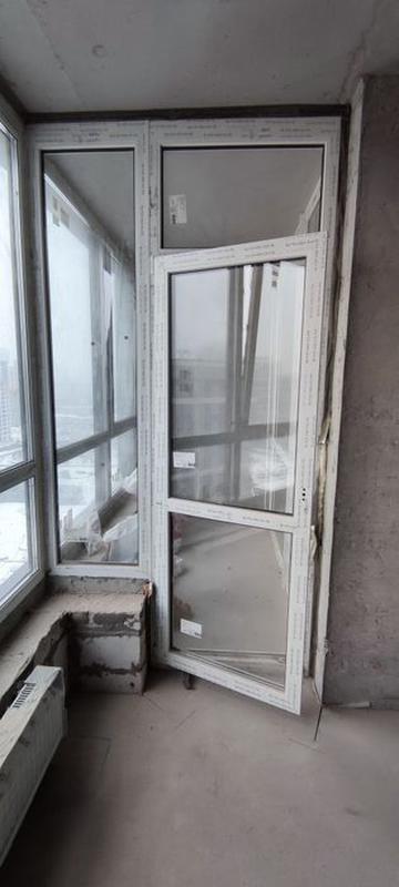 Окна, Окно, Балконный стеклопакет, Rehau, двухкамерный