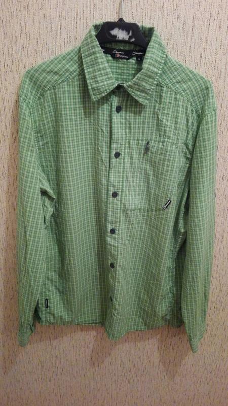 Трекінгова сорочка Berghaus трекинговая рубашка