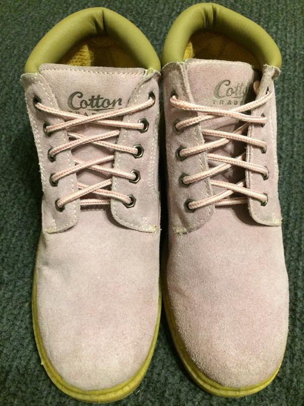 Cotton traders замшевые ботинки - Фото 2