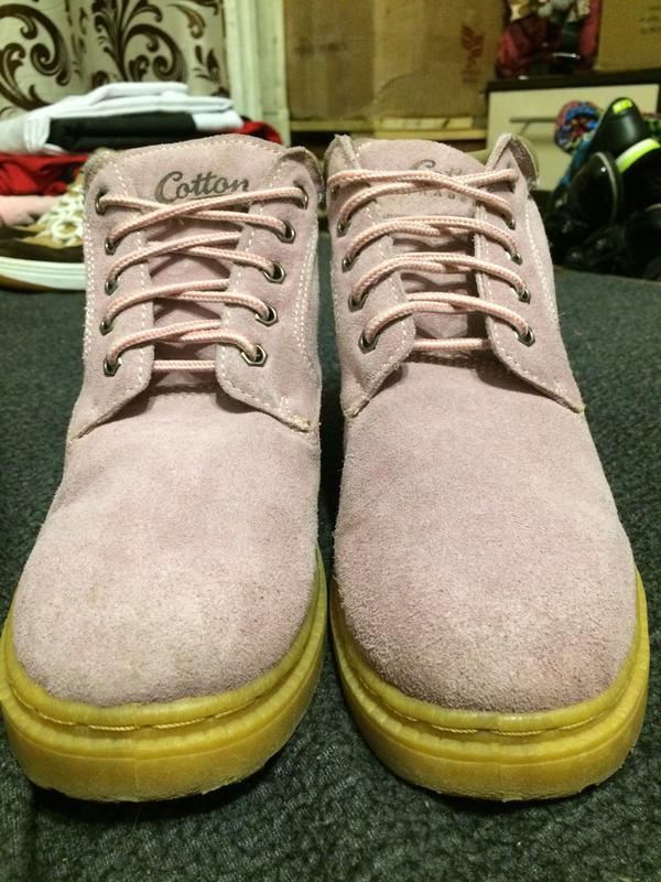 Cotton traders замшевые ботинки - Фото 3