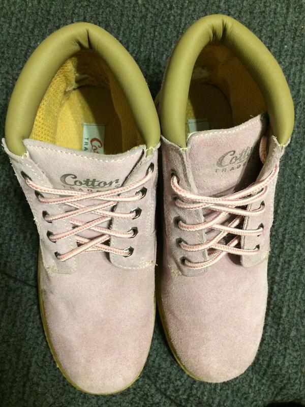Cotton traders замшевые ботинки - Фото 4