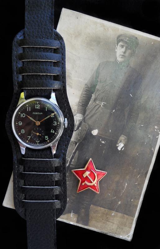«ПОБЕДА» времён СТАЛИНА, МЕХАНИКА, сделано в СССР 52 г. МУЖСКИЕ ч