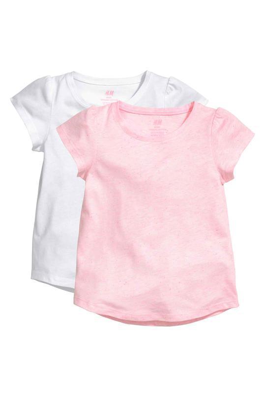 Новые футболки 8-10 лет рост 134-140см от h&m, англия