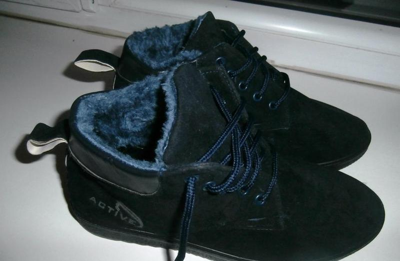 Хитовые детские зимние ботинки active на меху