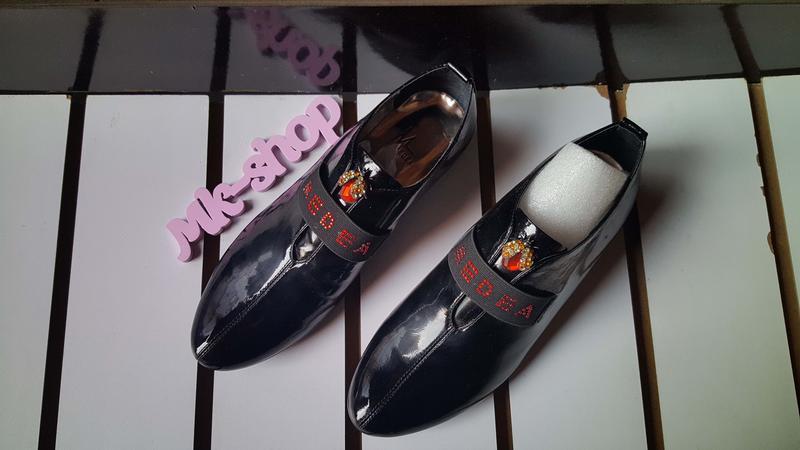 Женские туфли лак-кожа, media 028 - Фото 4