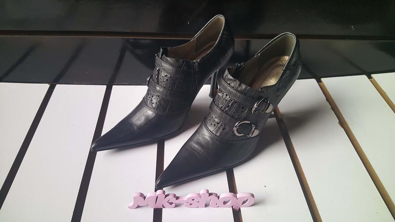 Женские кожаные туфли фирмы blue tempt 118