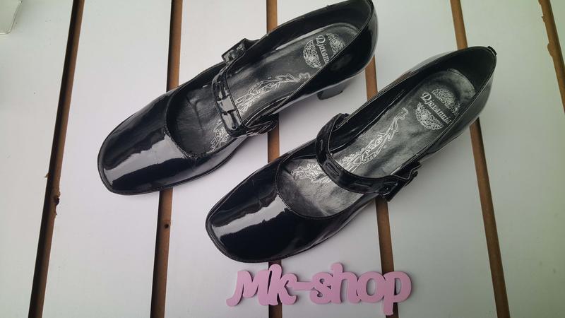 Женские лаковые туфли djovannia 061, (б.у) - Фото 4