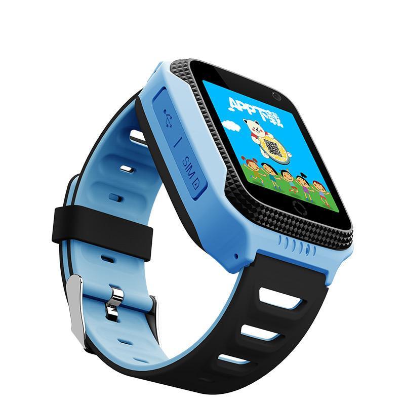 Smart годинник дитячий з GPS Q528 + камера Blue