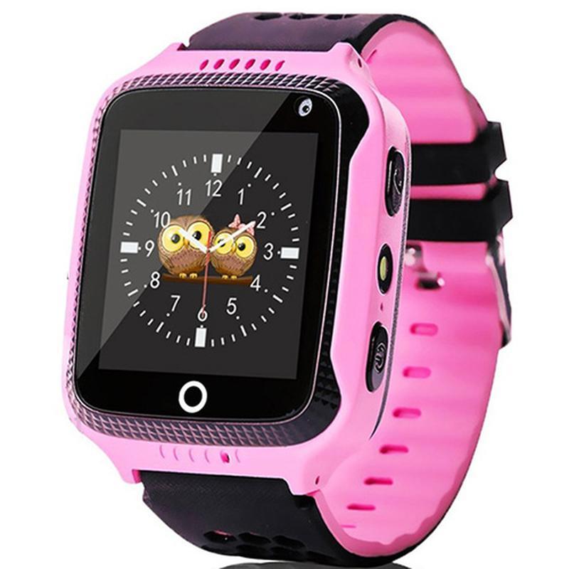 Smart годинник дитячий з GPS Q528 + камера Pink