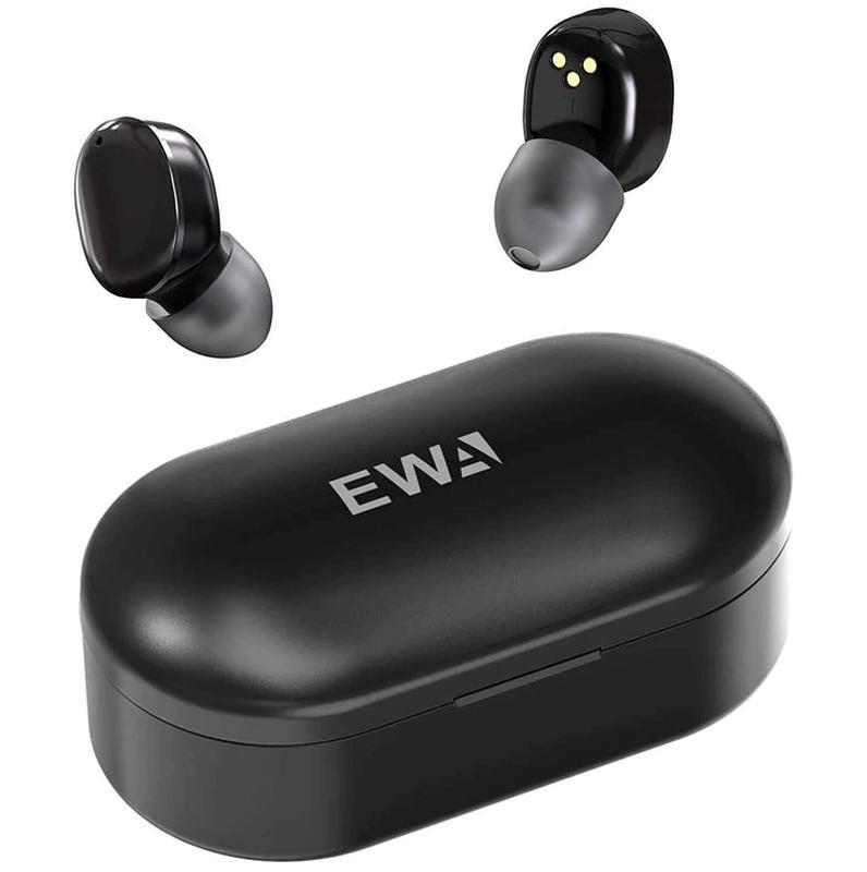 Беспроводные Bluetooth наушники TWS EWA-3000 с зарядным кейсом.