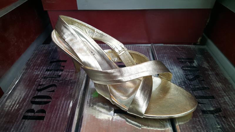 Женские босоножки на каблуке фирмы bosaly в наличие. - Фото 3