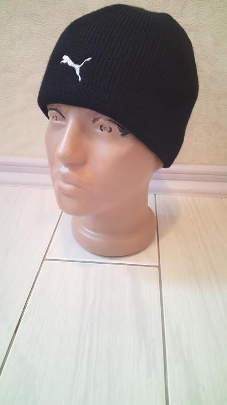 Подростковая шапка puma оч.теплая - Фото 2