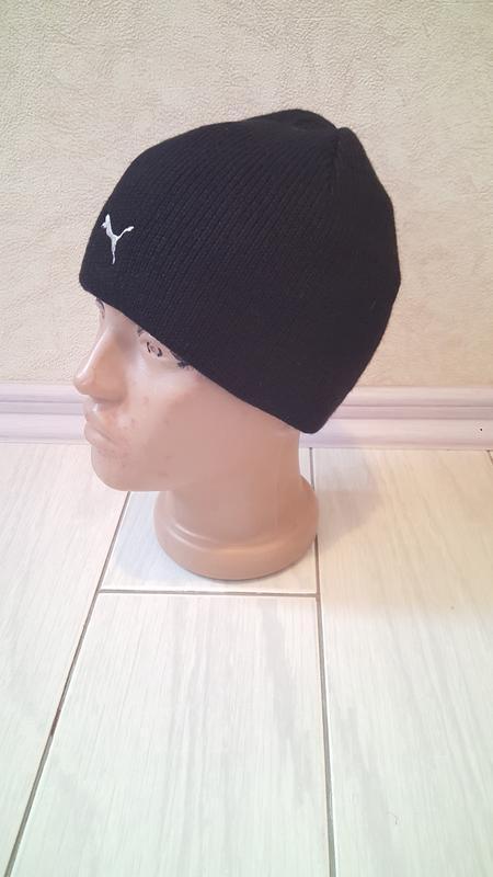 Подростковая шапка puma оч.теплая - Фото 3