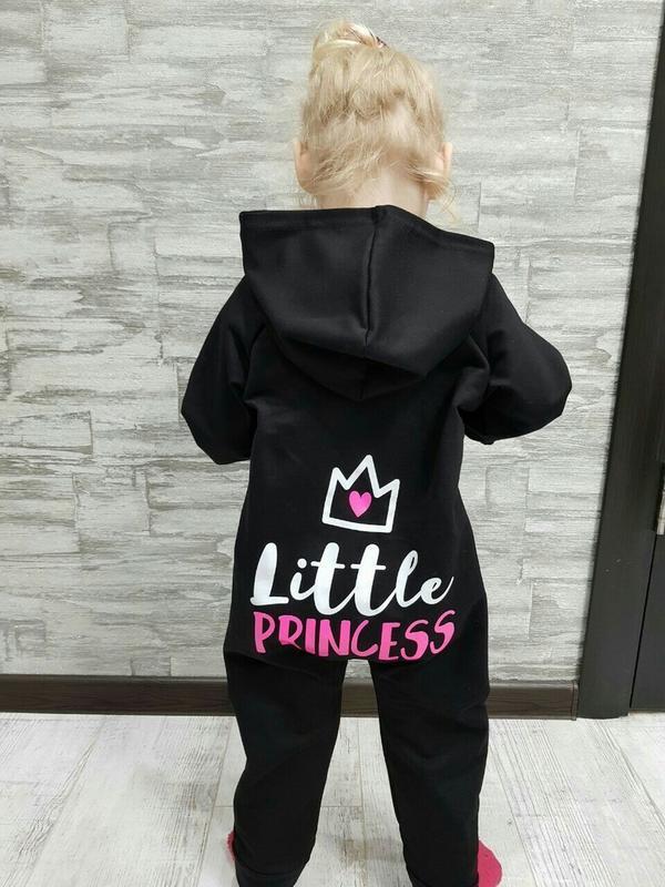Классный человечек для девочек маленькая принцесса на 74-104см - Фото 2