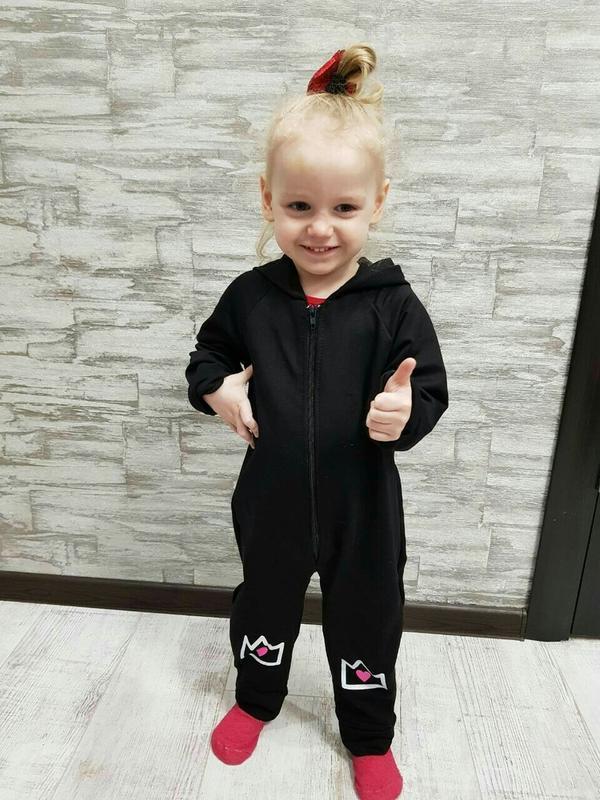 Классный человечек для девочек маленькая принцесса на 74-104см - Фото 3
