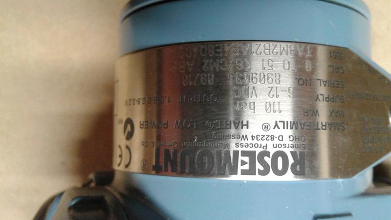 Преобразователь давления Rosemount 3051 - Фото 3