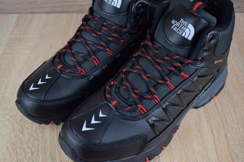 Ботинки The North Face Ultra 110 черные с красным. - Фото 5