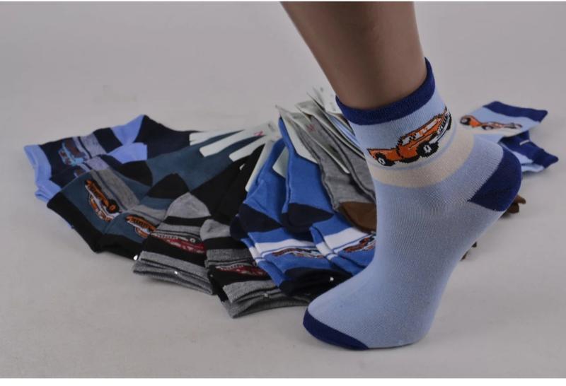 Носки на мальчика с машинками