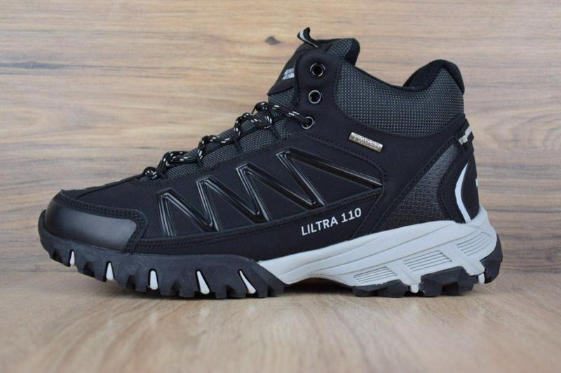 Ботинки The North Face Ultra 110 черные - Фото 8