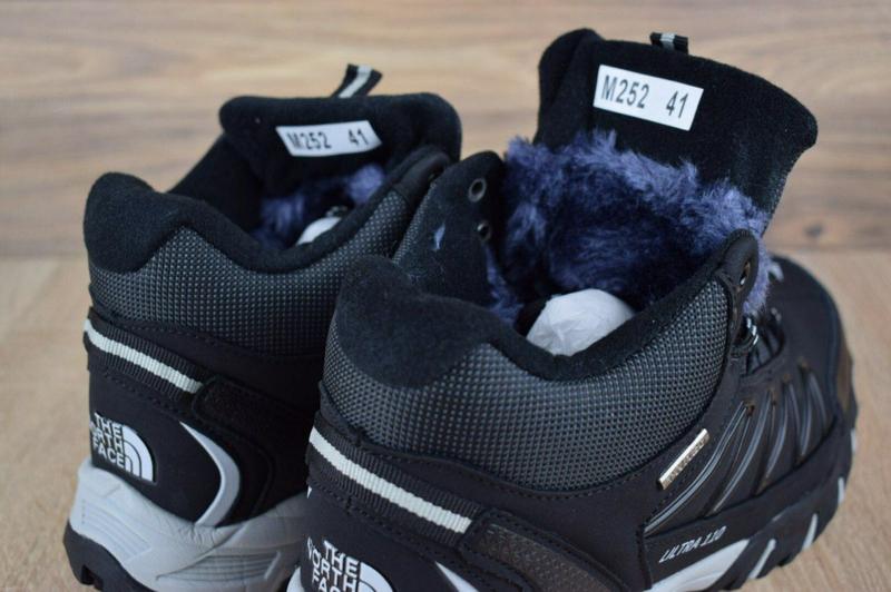 Ботинки The North Face Ultra 110 черные - Фото 6