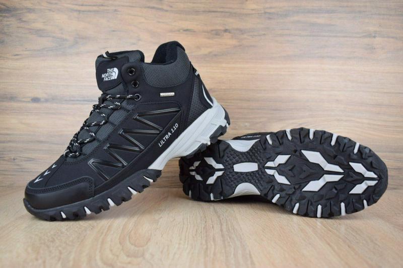 Ботинки The North Face Ultra 110 черные - Фото 9
