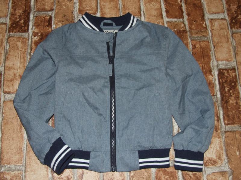 Куртка бомбер ветровка 4-5 лет rebel сток