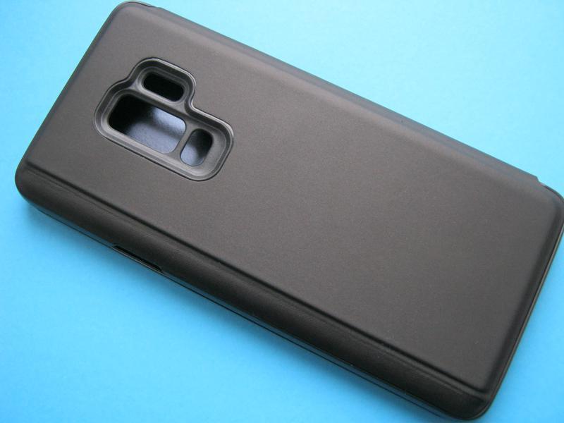 Зеркальный чехол-книжка для Samsung Galaxy S9+ - Фото 5