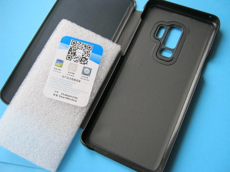 Зеркальный чехол-книжка для Samsung Galaxy S9+ - Фото 4