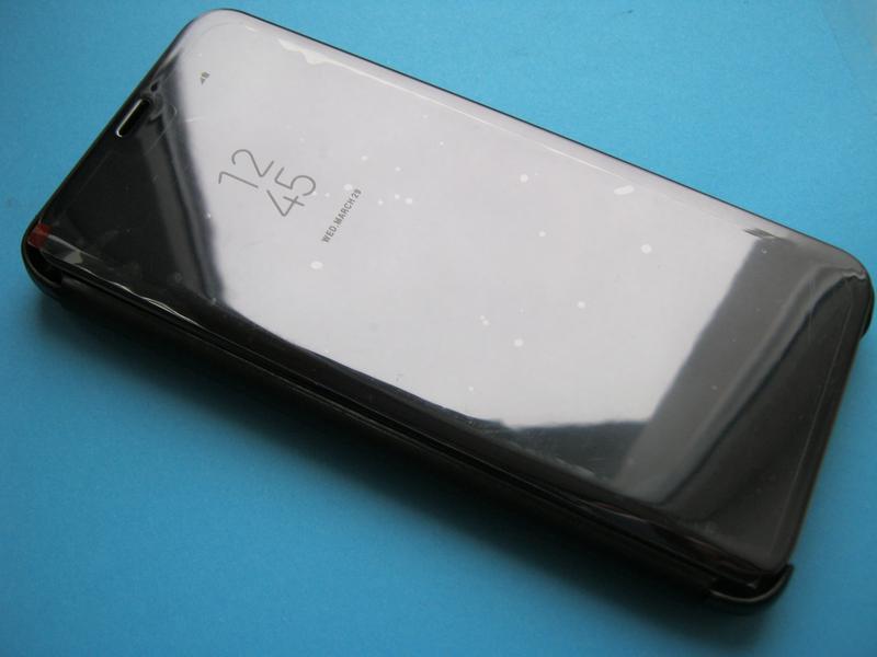 Зеркальный чехол-книжка для Samsung Galaxy S9+