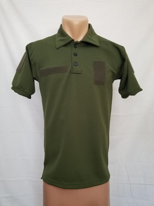 футболка поло олива для военных