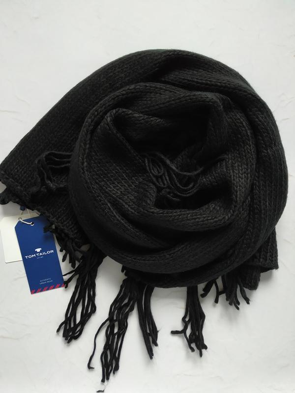 Вязаный шарф от tom tailor