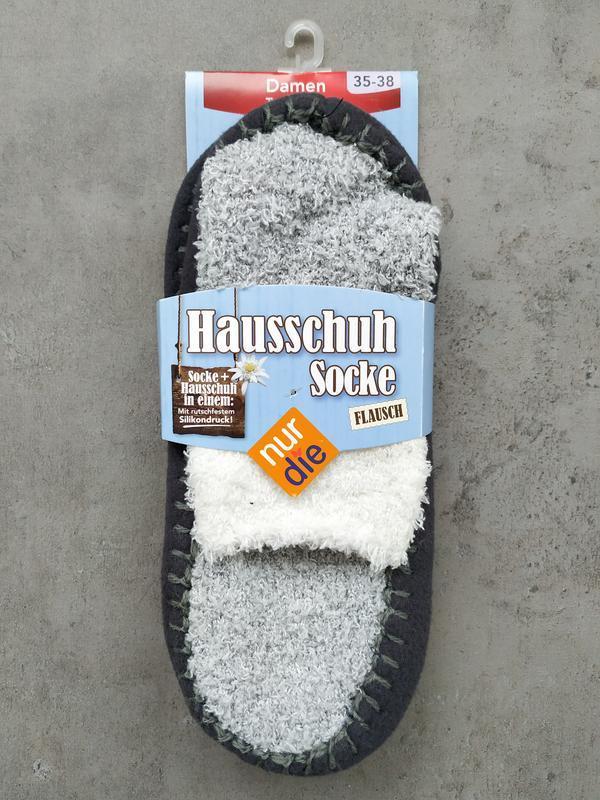 39-42 носки тапочки nur die