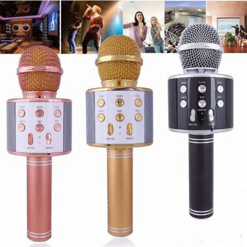 Микрофон для караоке W-858 (USB/Bluetooth) - Фото 4